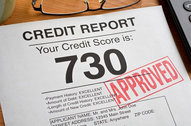 credit report approved graphic