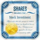 shares investment icon