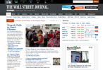 The Wall Street Journal home-page