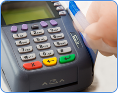 Credit card processing at small business