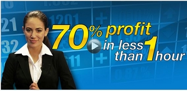 Binary Options - 70% in less than 1 hour.