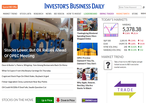 Investor's Business Daily website picture