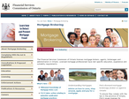 The Financial Services Commission of Ontario website picture